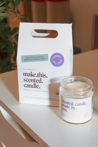 Make This Universe candle making kit available at Kinsfolk Shop