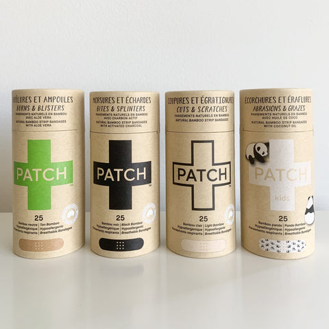 Patch Compostable Bandage Carboard Tubes