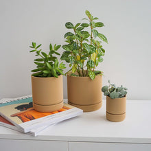 Load image into Gallery viewer, Hemlock Planters - Tan