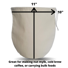 Load image into Gallery viewer, Nut Milk/Cold Brew Coffee Bag