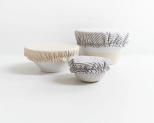 Load image into Gallery viewer, Linen Bowl Covers Set of 3
