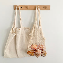Load image into Gallery viewer, Cotton Net Tote Bag
