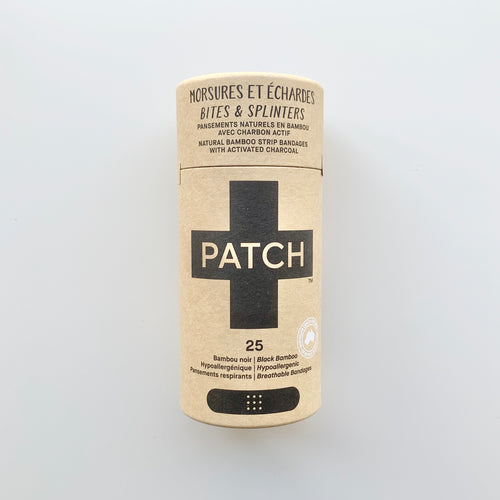 Patch Activated Charcoal Compostable Bandages