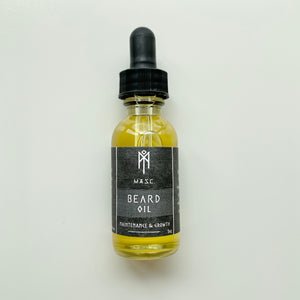 Beard Oil - Maintenance and Growth