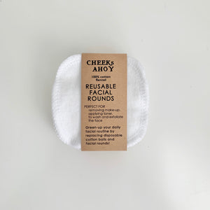 Cotton Facial Rounds 12 Pack