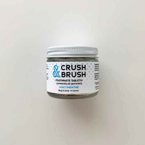 Crush and Brush Tablets Mint