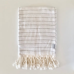 Oversized Turkish Towel Dove