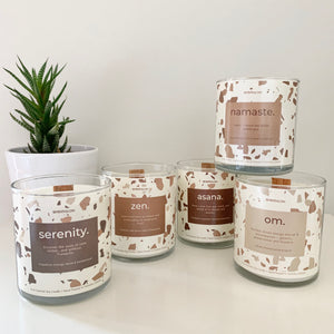 Asana Coconut & Soy Candle