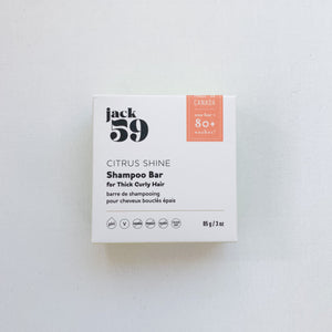 Citrus Shine Shampoo Bar - Thick/Curly Hair