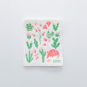 Armadillos Sponge Cloth