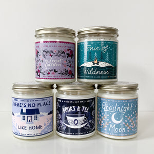 Tonic of Wildness Soy Candle