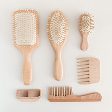 Load image into Gallery viewer, Mini Pocket Wooden Hair Brush