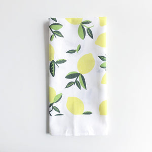 Lemon Citrus Tea Towel
