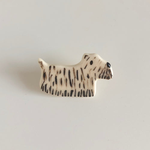 Hairy Terrier Pin