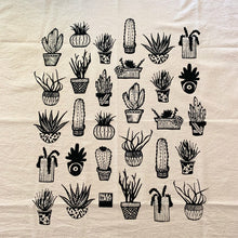 Load image into Gallery viewer, Succulents Tea Towel