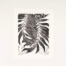 Load image into Gallery viewer, Palm Leaves 8x10 Block Print