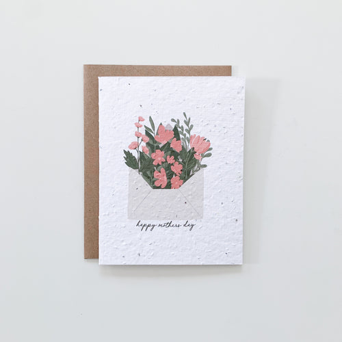 Mother's Day Seed Paper Card