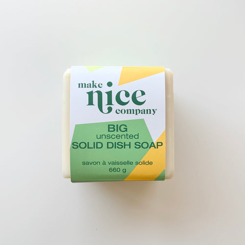 Make Nice Company XL Solid Dish Soap