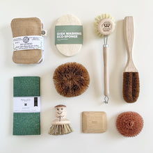 Load image into Gallery viewer, EcoCoconut Kitchen Cleaning Brush