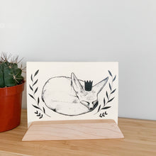 Load image into Gallery viewer, Fennec Fox Blank Greeting Card