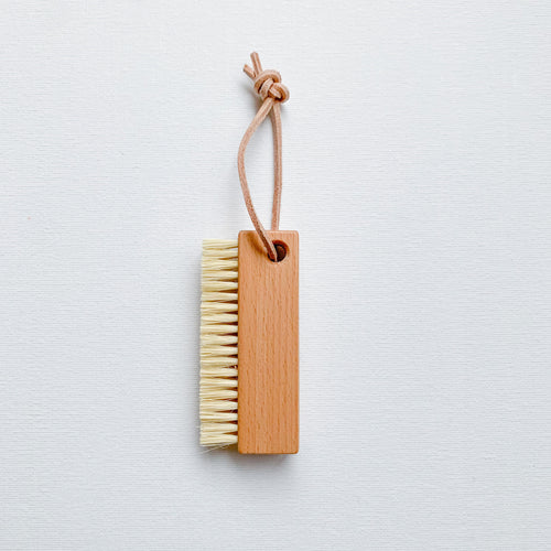 Nail Brush with Hanging Loop