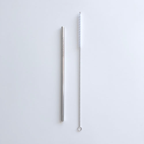 Stainless Steel Straw with Brush