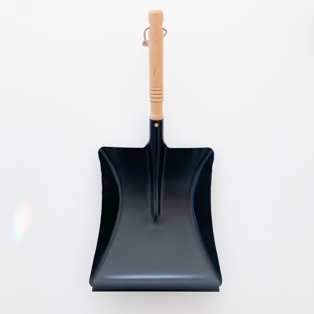 Matte Black Steel Dust Pan