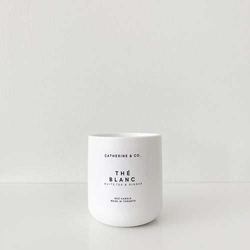 Thé Blanc Soy & Coconut Candle