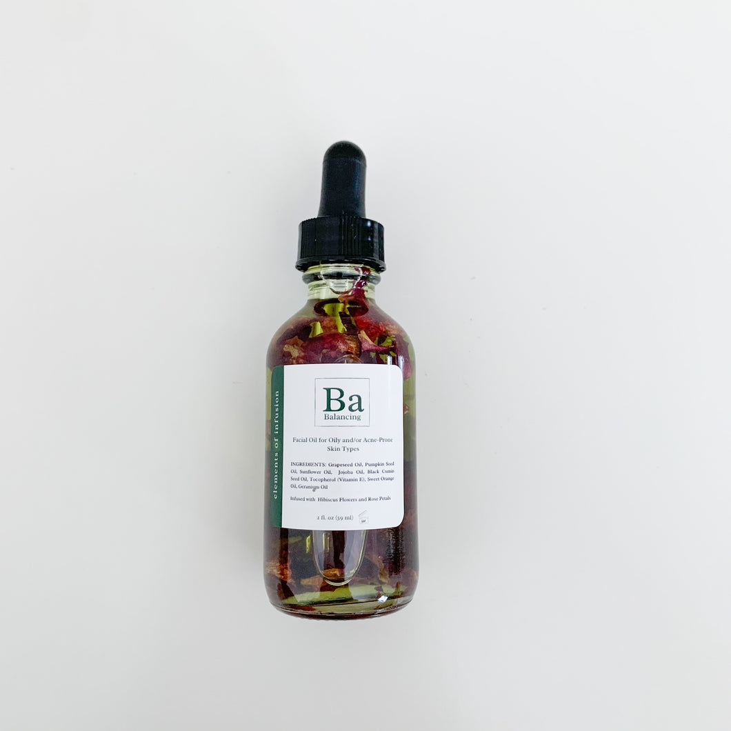 Balancing Facial Oil for Oily/Acne-Prone/Combination Skin