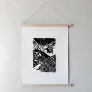 Earth Day Woodblock Print Fundraiser