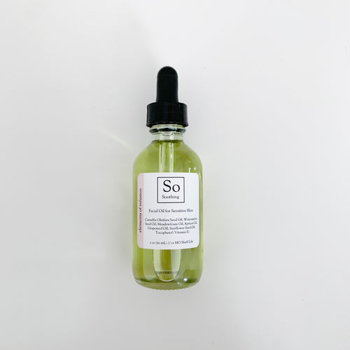 Soothing Facial Oil for Sensitive Skin