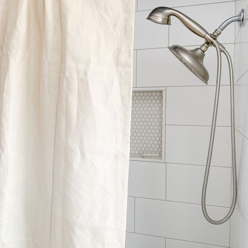 Linen Shower Curtains