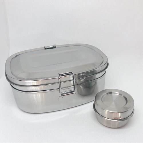 Stainless Steel Lunch Container Medium