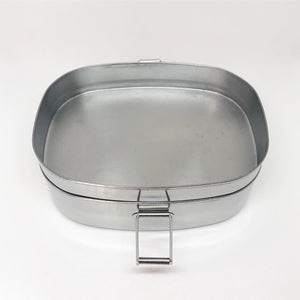 Stainless Steel Lunch Container Large