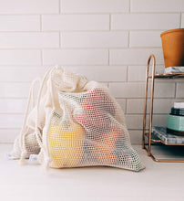 Load image into Gallery viewer, Mesh Produce Bags Set of 3