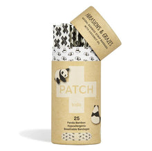 Load image into Gallery viewer, Patch Panda Coconut Oil Kids Compostable Bandages
