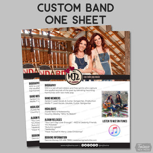 Custom Band One Sheet