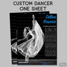 Load image into Gallery viewer, Custom Dancer One Sheet