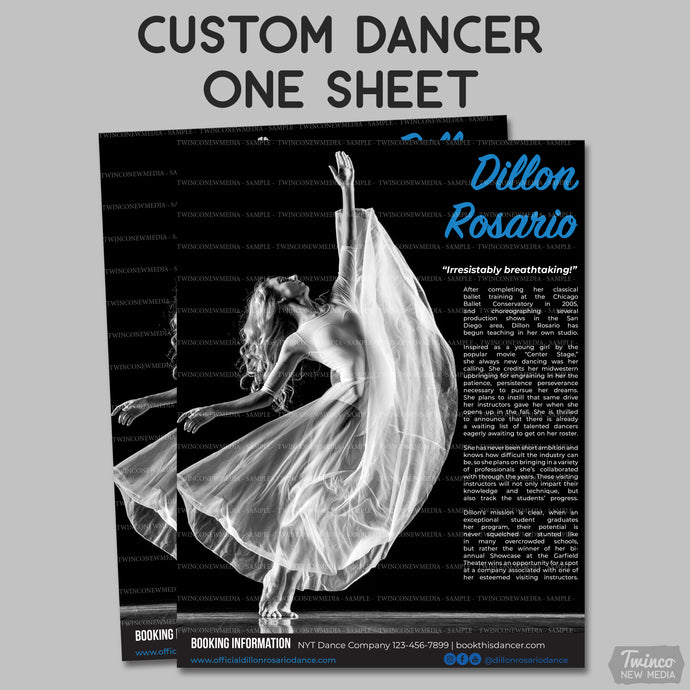 Custom Dancer One Sheet