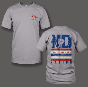 Nose Down Nation Patriotic T Shirt