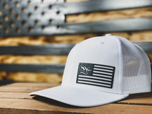 Load image into Gallery viewer, USA Flag Stone Patch Hat