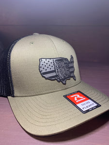 Nose Down Nation USA Patch Hat