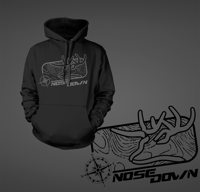 Nose Down Topo Hoodie