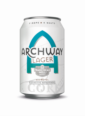 Archway Lager 330ml Can (24 Pack)