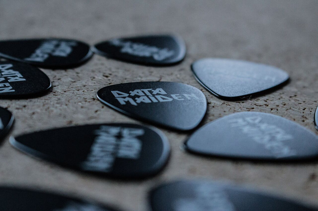 Data Maiden Guitar Picks