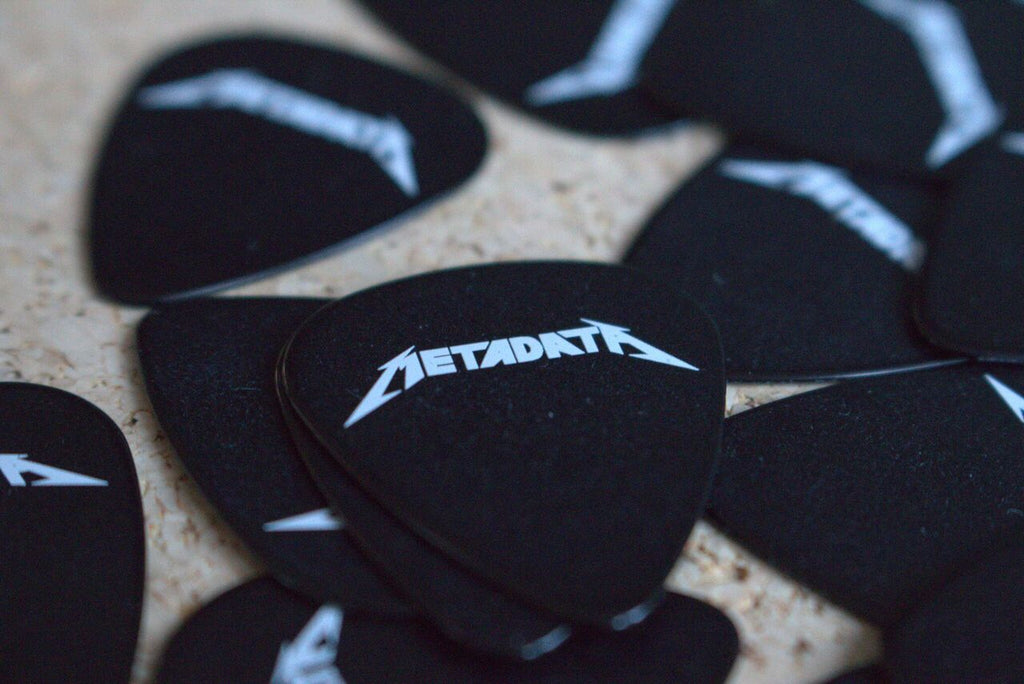 Metadata Guitar Picks