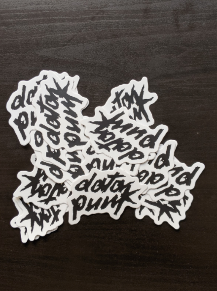 Data Punk Sticker