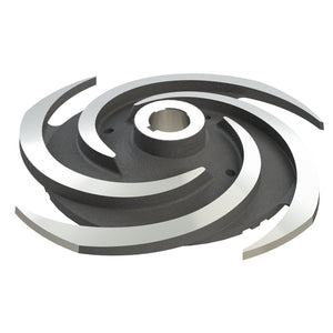 HT Impeller - Duplex White Iron