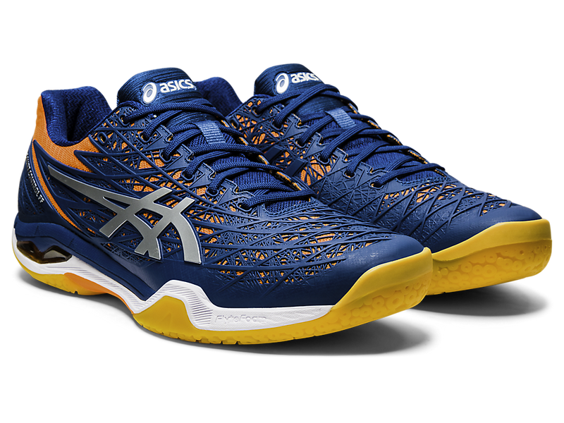 Asics Court Control FF (Men's) - Mako Blue/Pure Silver