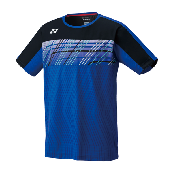 Yonex Crew Neck T-Shirt (Men's) - Dark Blue